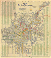 Los Angeles Map By Laura L. Whitlock