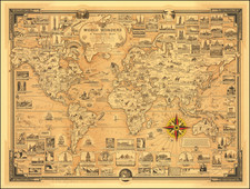 World and Pictorial Maps Map By Ernest Dudley Chase