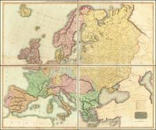 Europe Map By John Thomson