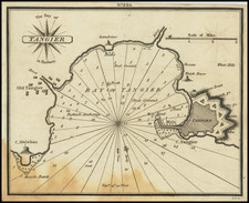North Africa Map By William Heather