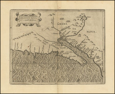 Granata Nova Et California By Cornelis van Wytfliet
