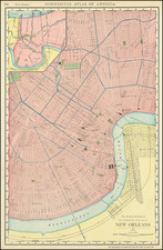 New Orleans Map By Rand McNally & Company
