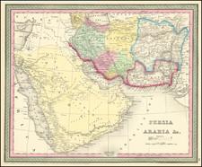 Persia Arabia &c. By Thomas Cowperthwait & Co.