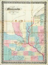 Minnesota Map By Silas Chapman