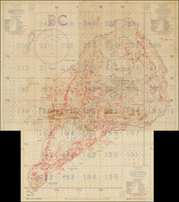 Japan, Other Pacific Islands and World War II Map By U.S. Navy Photographic Interpretation Squadron Two (Interpron Two)