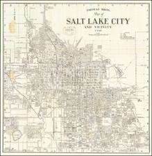 Utah and Utah Map By Thomas Brothers