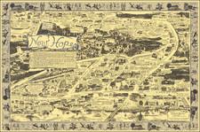 Pennsylvania and Pictorial Maps Map By Gina Shamus / Leslie Holzman