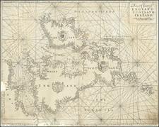 British Isles Map By Richard Mount  &  Thomas Page