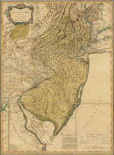 New Jersey and American Revolution Map By Francoise Perrier  &  Ambrose Verrier