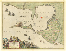 Spain Map By Johannes Blaeu