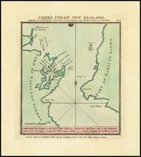 New Zealand Map By John Luffman