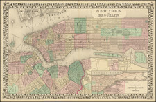 New York and Brooklyn By Samuel Augustus Mitchell Jr.