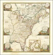 United States Map By Giovanni Maria Cassini
