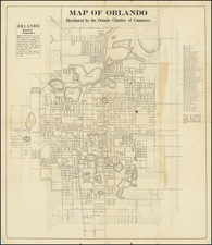 Florida Map By Orlando Chamber of Commerce