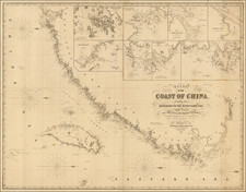 Chart of the Coast of China, Extending from Hong Kong to the River Yang-Tse. With Plans on a Large Scale of the Principal Harbours &c.  Compiled chiefly from the Surveys made by Capts. Kellett and Collinson, R.N. . . . 1855 By James Imray & Son