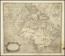 Atlantic Ocean, Europe, Africa, Africa and Canada Map By Domenico Zenoi / Orazio Bertelli