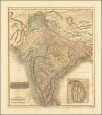 India Map By John Thomson