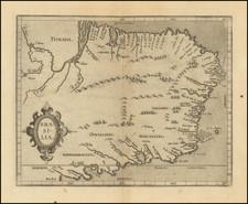 Brazil Map By Cornelis van Wytfliet