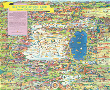 Pictorial Maps and California Map By Don Bloodgood