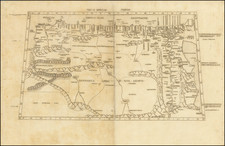 Africa, Egypt and North Africa Map By Claudius Ptolemy / Conrad  Swenheym