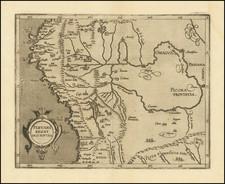 Peru & Ecuador Map By Cornelis van Wytfliet