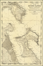 Bahamas Map By James H. Stark