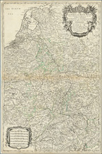 Netherlands and Switzerland Map By William Berry