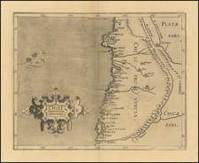 Chile Map By Cornelis van Wytfliet