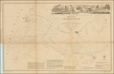 Oregon and Washington Map By United States Coast Survey