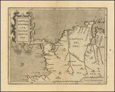 Colombia Map By Cornelis van Wytfliet