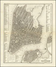 New York City Map By Joseph Meyer