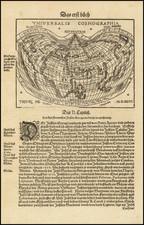 World Map By Johann Honter