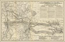 Kansas, Nebraska, Colorado, Utah, Colorado, Idaho, Montana, Utah and Wyoming Map By Rand McNally & Company
