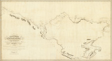 Polar Maps and Western Canada Map By Sir John Franklin