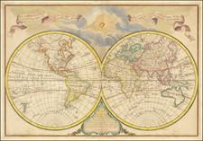World Map By Jean-Claude Dezauche