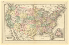 United States Map By William Bradley