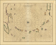 Caribbean and Other Islands Map By Johannes et Cornelis Blaeu