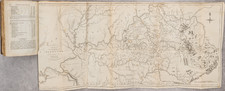 Kentucky, Tennessee and Rare Books Map By Gilbert Imlay