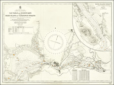San Francisco & Bay Area Map By British Admiralty