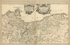 Poland and Germany Map By William Berry