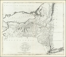 The State of New York Compiled from the most Authentic Information.  1796. By John Reid