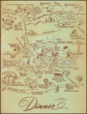California Map By Brown Derby Service Corp.