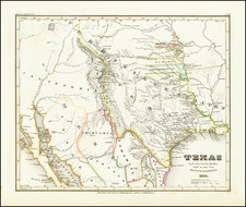 Texas and Southwest Map By Joseph Meyer