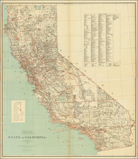 California Map By C. Roeser