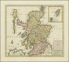 Scotland Map By Isaak Tirion