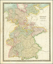 Germany Map By Henry Teesdale