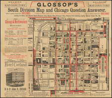 Chicago Map By Frank Glossop