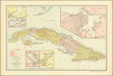 Cuba Map By Rand McNally & Company