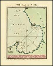 Holy Land Map By John Luffman