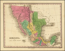 Texas, Southwest, Arizona, Colorado, Utah, Nevada, New Mexico, Rocky Mountains, Colorado, Utah and California Map By Anthony Finley